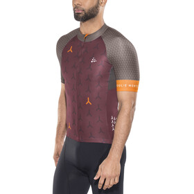 Craft Monument Bike Jersey Shortsleeve Men red